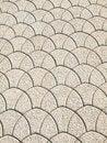 Free Scalloped Pattern - Walking Path Royalty Free Stock Photos - 5880338