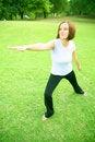 Free Caucasian Woman Doing Yoga Stock Images - 5884104