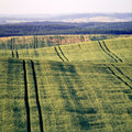 Free Landscape With Green Fields Stock Photography - 5885792