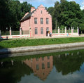 Free Pavilion The Dutch Small House At A Pond Stock Photo - 5886060