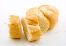 Free Sliced Baguette Stock Image - 5880041