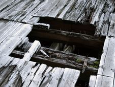 Free Burnt Timbers On Pier Stock Photography - 5880222