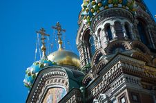 Free Russian Church Royalty Free Stock Photos - 5880608