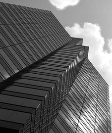 Free Black And White Glass Building Stock Photos - 5880613