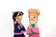Free Two Dolls Stock Image - 5880641