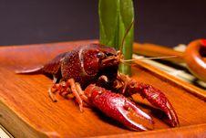 Free Crayfish Dish Royalty Free Stock Photo - 5881345