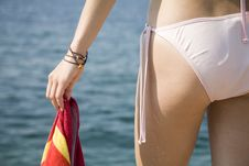 Free Hand With Towel Stock Images - 5881844