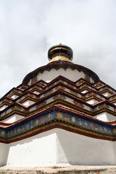 Grand Tibet Pagoda Royalty Free Stock Images