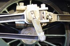 Free Ancient Locomotive Wheel Royalty Free Stock Images - 5882249