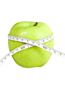 Free Diet Apple Royalty Free Stock Image - 5882516