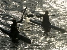 Free Rowers Stock Image - 5882831