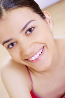 Free Close-up Of Beautiful Soft Face Royalty Free Stock Photography - 5883047