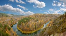 Free Autumn River 2 Stock Photography - 5883292