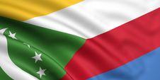 Flag Of The Comoros Stock Image