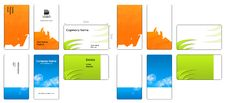 Free Colorful Business Cards Stock Photography - 5883542