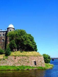 Free Majestic Fortress On Island. Stock Photo - 5883670