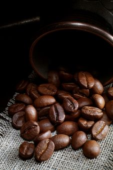 Free Coffee Grains Stock Image - 5883831