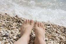 Free Woman S Feet Royalty Free Stock Photo - 5884255
