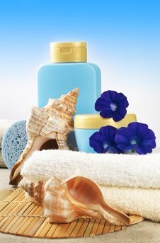 Free SPA Products Stock Image - 5884601