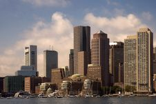 Free Boston Waterfront Harbor Royalty Free Stock Images - 5885279