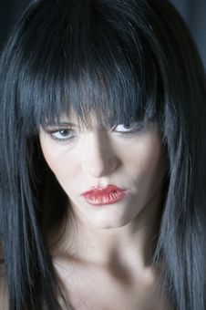 Free Talya Face Close Up Stock Photography - 5886522