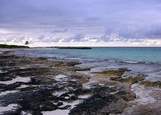 Free Paradise Island Rocky Coast Stock Image - 5886601