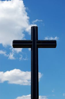 Free Cross In The Sky Royalty Free Stock Images - 5886689