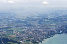 Free Top-view On City Thun, Switzerland Stock Photos - 5886833