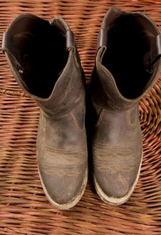 Cowboy Gear Stock Photography