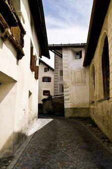 Free Guarda; Historic Village Stock Image - 5887361
