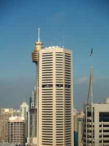 Free Sydney Tower Royalty Free Stock Photos - 5887758