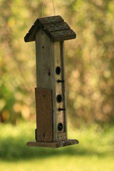 Bird Feeder Stock Image