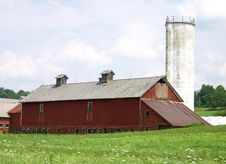 Free Vermont Barn Royalty Free Stock Photo - 5887845
