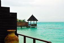 Free Maldives, Welcome To Paradise! Stock Photo - 5888070