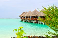 Free Maldives, Welcome To Paradise! Royalty Free Stock Photos - 5888078