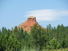 Free Chimney Rock Stock Images - 5888554