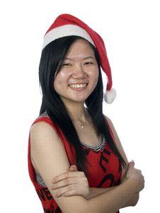 Free Christmas Santa Girl-4 Stock Photography - 5888952