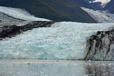 An Alaskan Glacier Stock Image