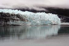 Free A Blue Alaskan Glacier And Still Waters Stock Photos - 5889633
