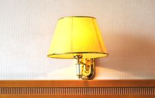 Free Wall Lamp Stock Images - 5889774