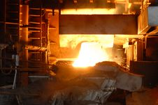 Free Industrial Metallurgy Royalty Free Stock Photo - 5889845