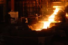 Free Industrial Metallurgy Royalty Free Stock Image - 5890056
