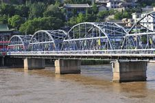 Free Steel Bridge Stock Photos - 5890143