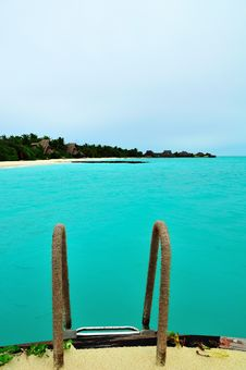 Free Maldives, Welcome To Paradise! Stock Photography - 5890192
