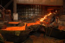 Free Industrial Metallurgy Royalty Free Stock Image - 5890336