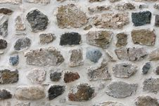 Details Stone Wall Texture Royalty Free Stock Photos