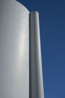 Close-up On A Silo Stock Images