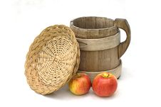 Free Apples End Crockery Royalty Free Stock Photography - 5892717