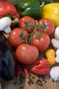 Free Some Fresh Vegetables Stock Photo - 5892980