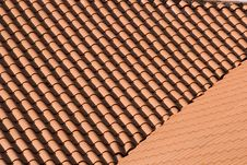 Free Two Red Tile Roofs Royalty Free Stock Photo - 5893815